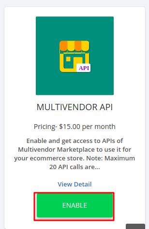 Multivendor API