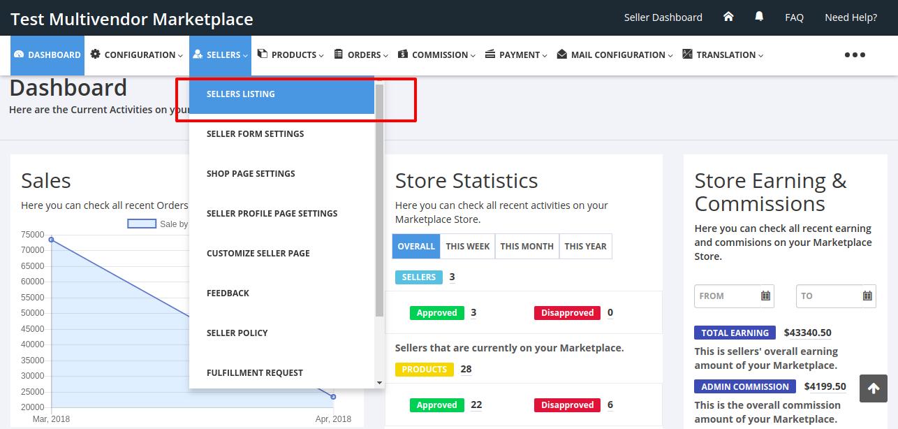 Multi-Vendor Marketplace Invoice