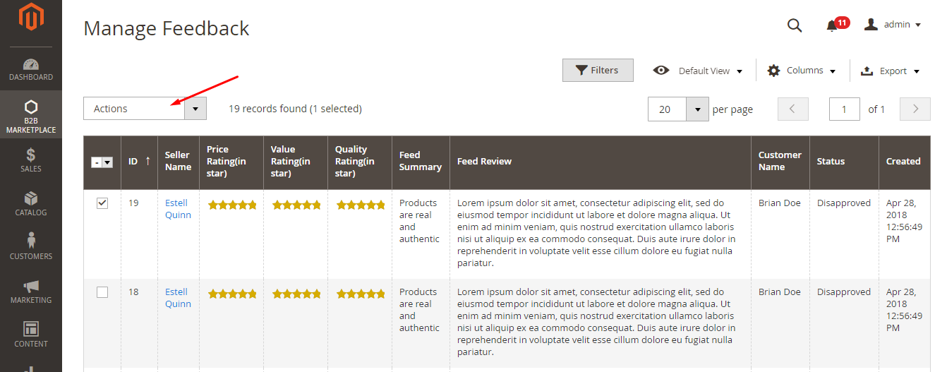 manage supplier reviews