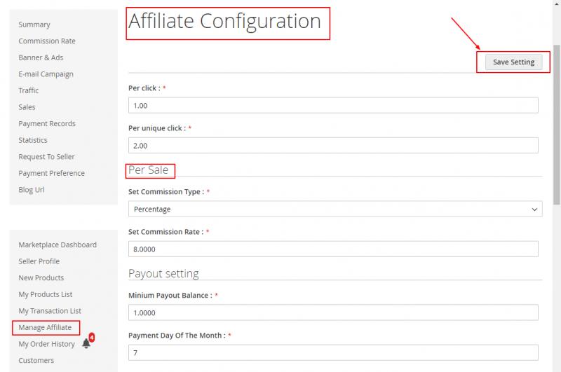 mpaffiliate-Affiliate-configuration