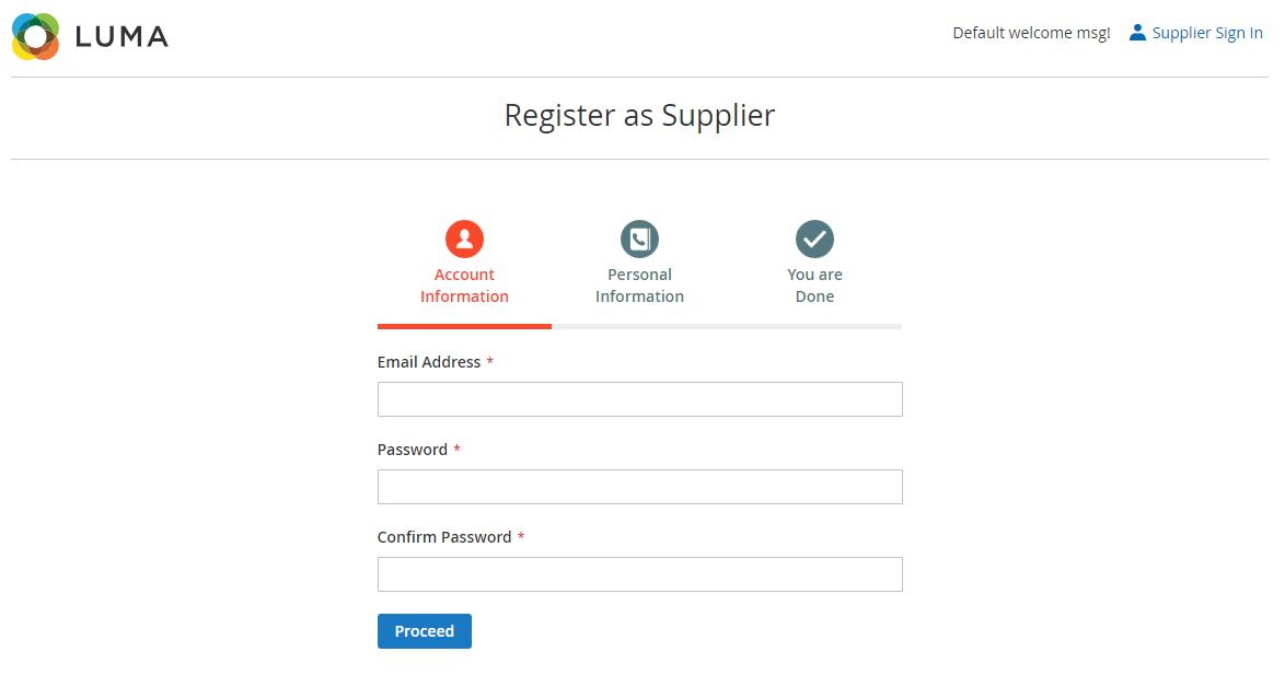 webkul-magento2-b2b-marketplace-supplier-registration