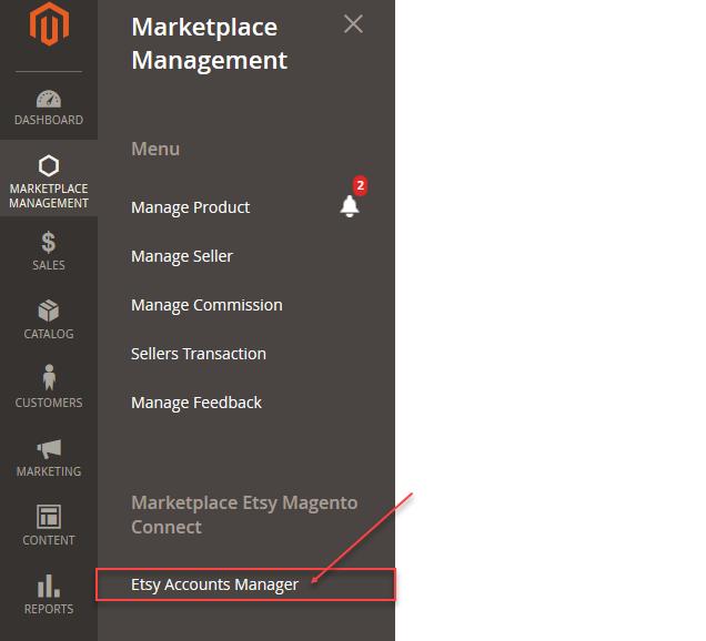 Magento 2 Marketplace Etsy connector
