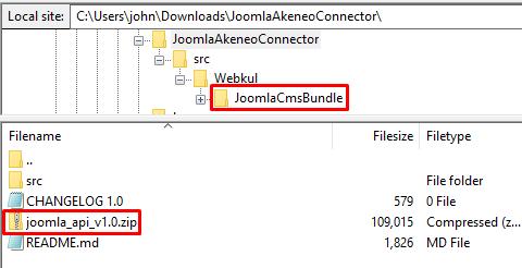 webkul-joomla-akeneo-connector-download-folder