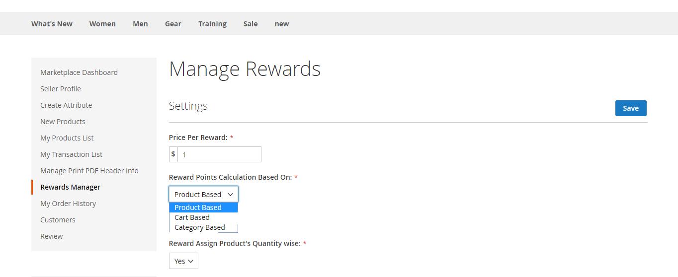 Reward-points-manage
