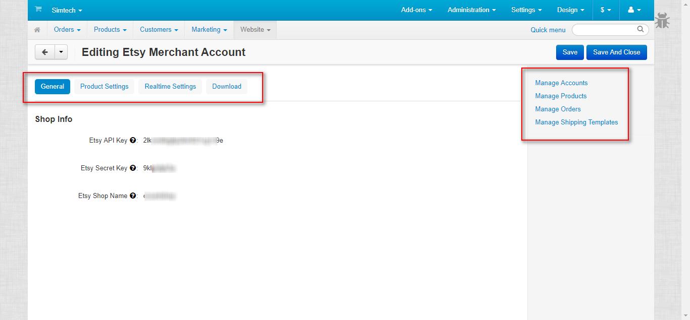 edit merchant account