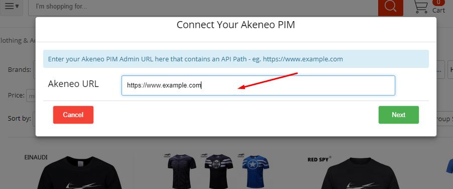 webkul-aliexpress-akeneo-connect-url