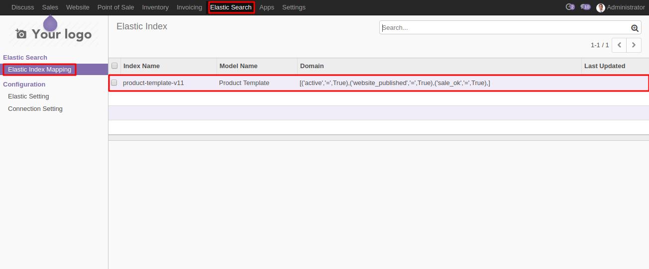 Odoo Smart Search using Elasticsearch   Use Elasticsearch to