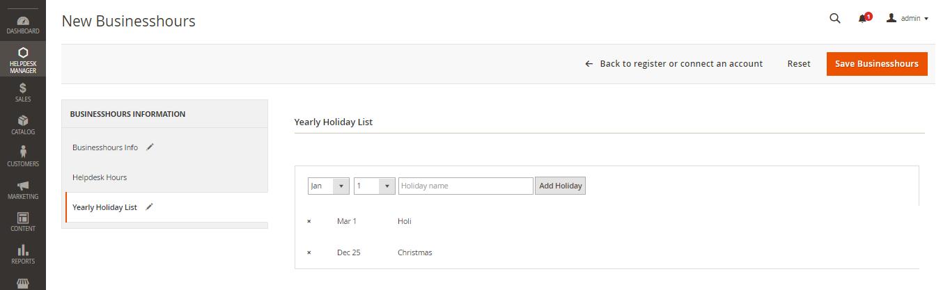 holiday-list