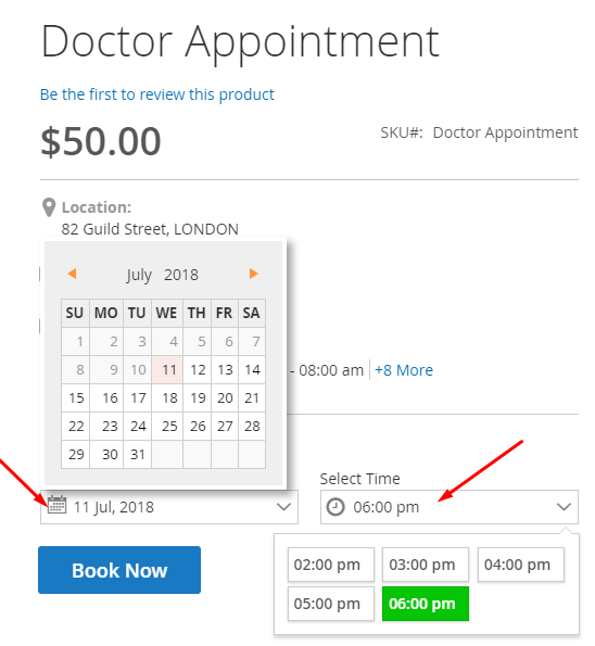 Magento 2 Booking Appointment Extension | Online Scheduling