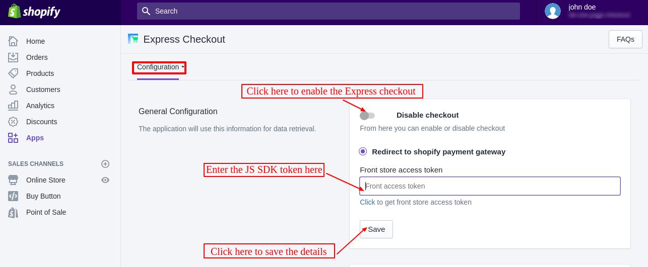 Shopify Express Checkout | Single Page Checkout | One Page