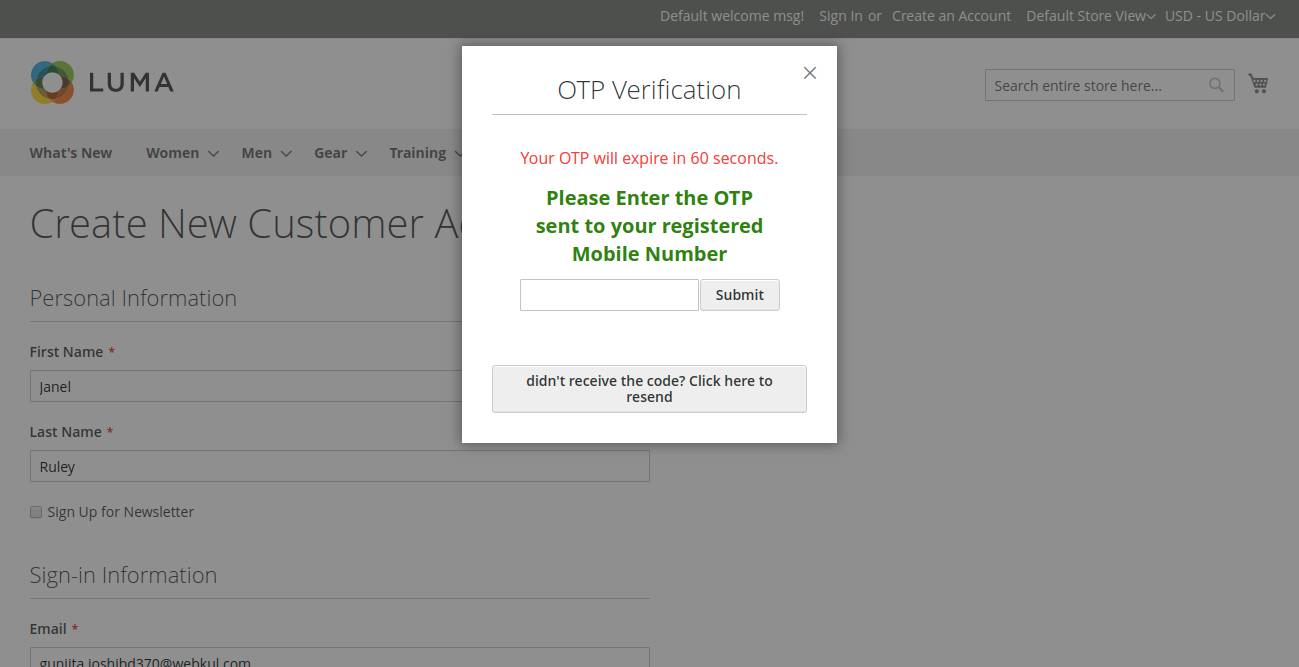 OTP (One Time Password)_otp verification mobile