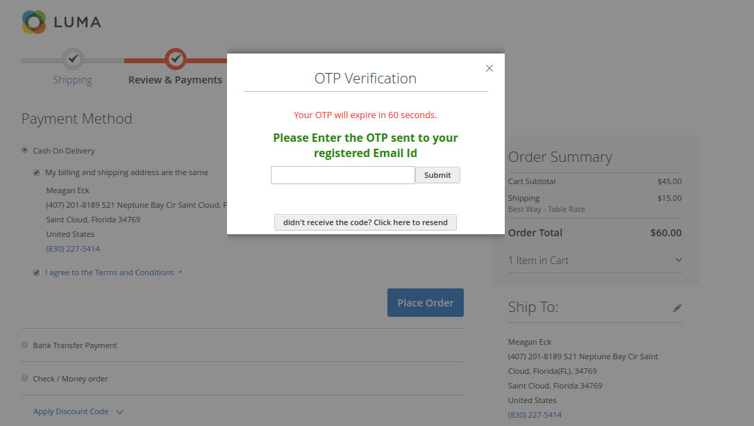 magento2-otp-extension_otp_generation_during_checkout