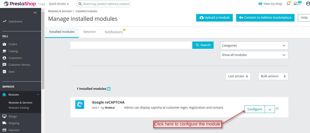 Prestashop Google reCAPTCHA | Website Protection Extension
