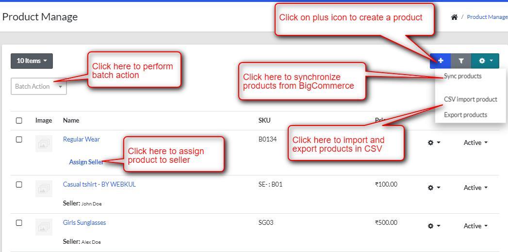 BigCommerce Marketplace Application - BigCommerce add product