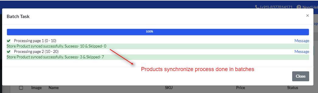 BigCommerce Marketplace Application - product synchronize