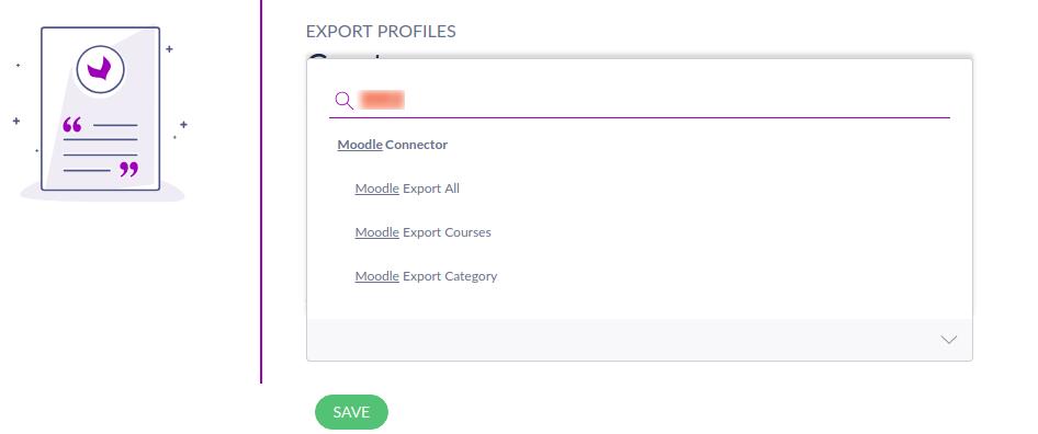 Export job profile in Akeneo