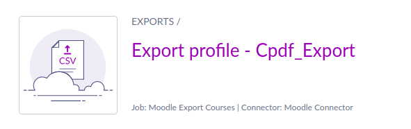 Create export profile in Akeneo
