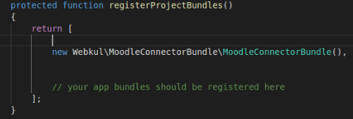 Add code line in Appkernel.php