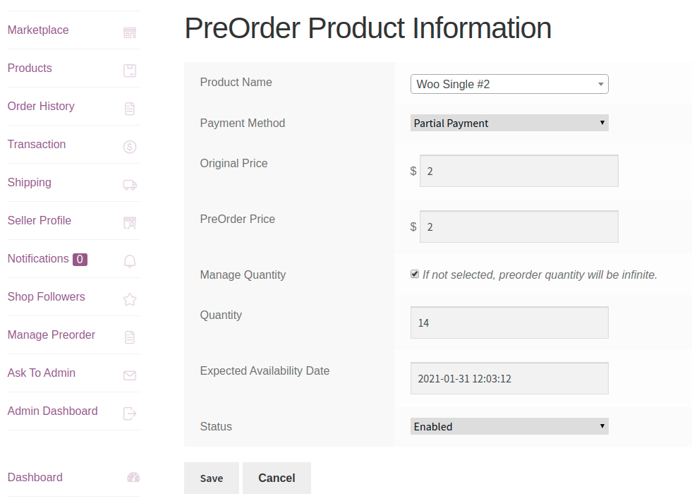 group product preorder 2