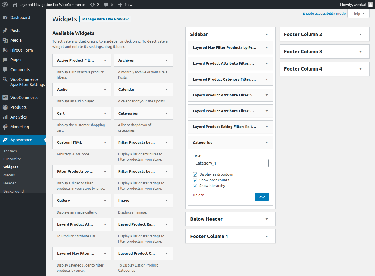 webkul-woocommerce-layered-navigation-plugin-add-new-category-widget