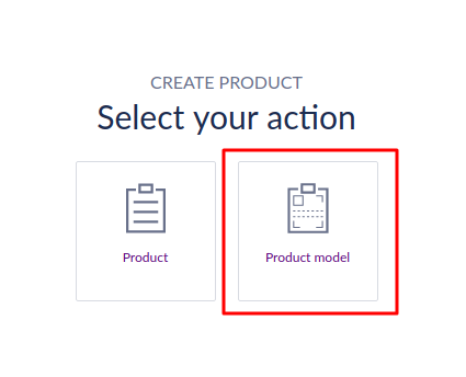 Select a product variant
