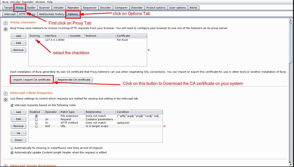 Burp Suite Installation Process for Mozilla Firefox - Webkul