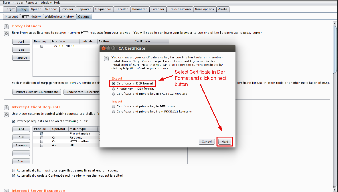 Burp Suite Installation Process for Mozilla Firefox - Webkul