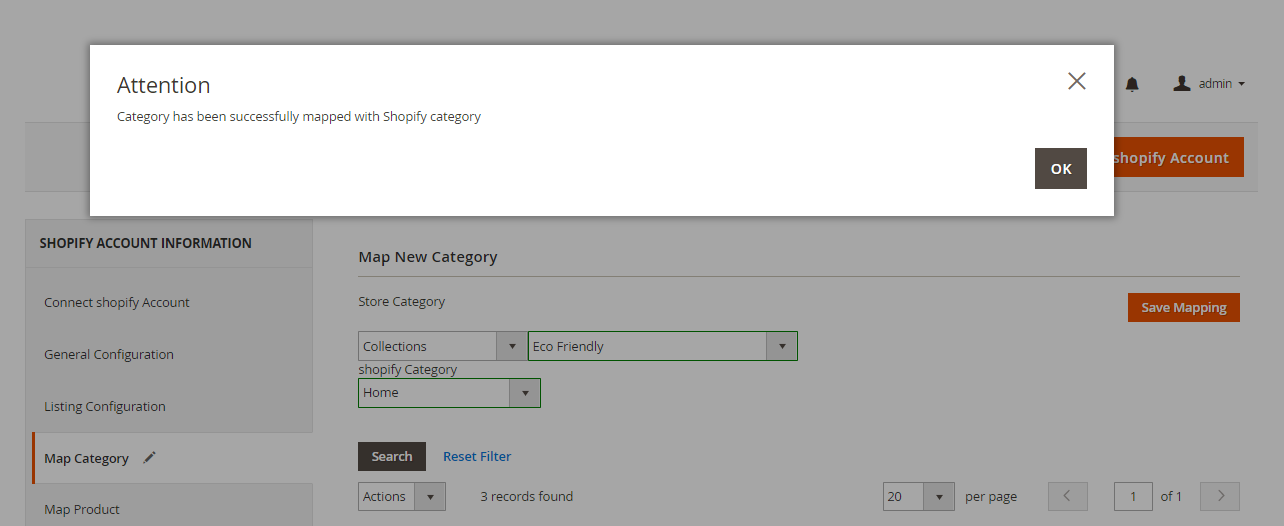 Shopify Magento 2 success-message