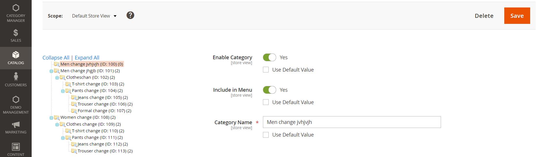 Men-change-jvhjvjh-ID-100-Categories-Inventory-Catalog-Magento-Admin