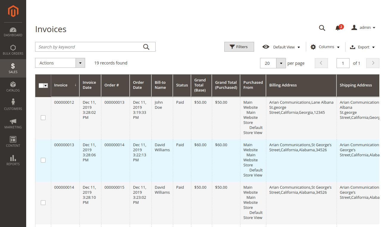 webkul-magento2-bulk-order-processing-invoices-operations