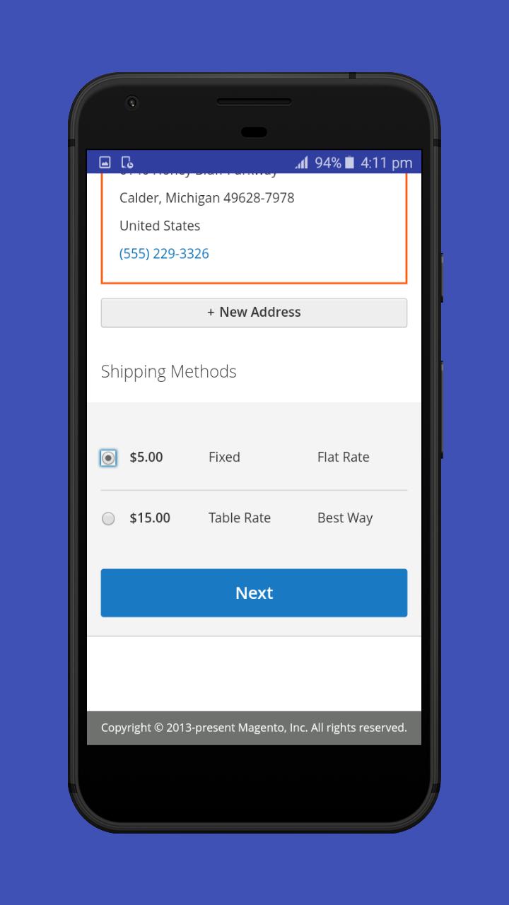 Magento 2 Hybrid Mobile App
