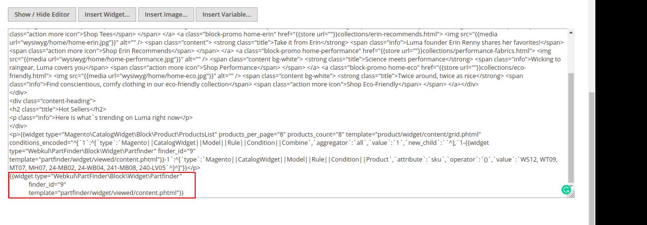 webkul-magento2-vehicle-part-finder-code-paste