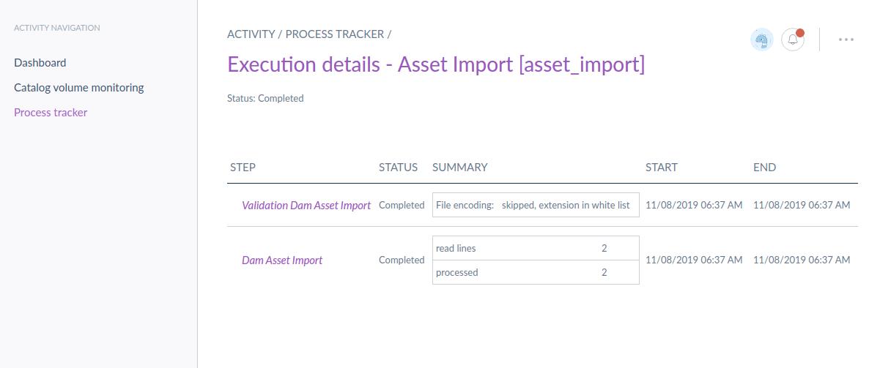dam asset import