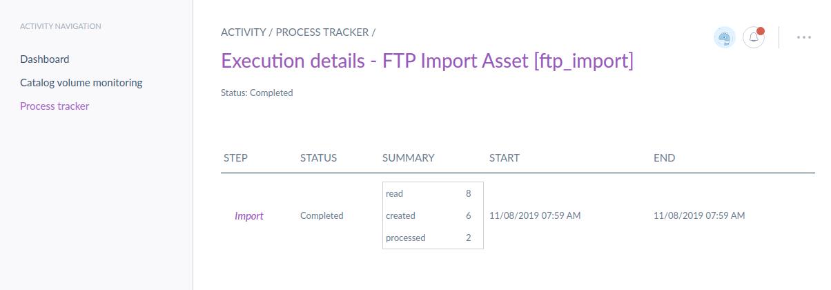 Import Ftp Assets