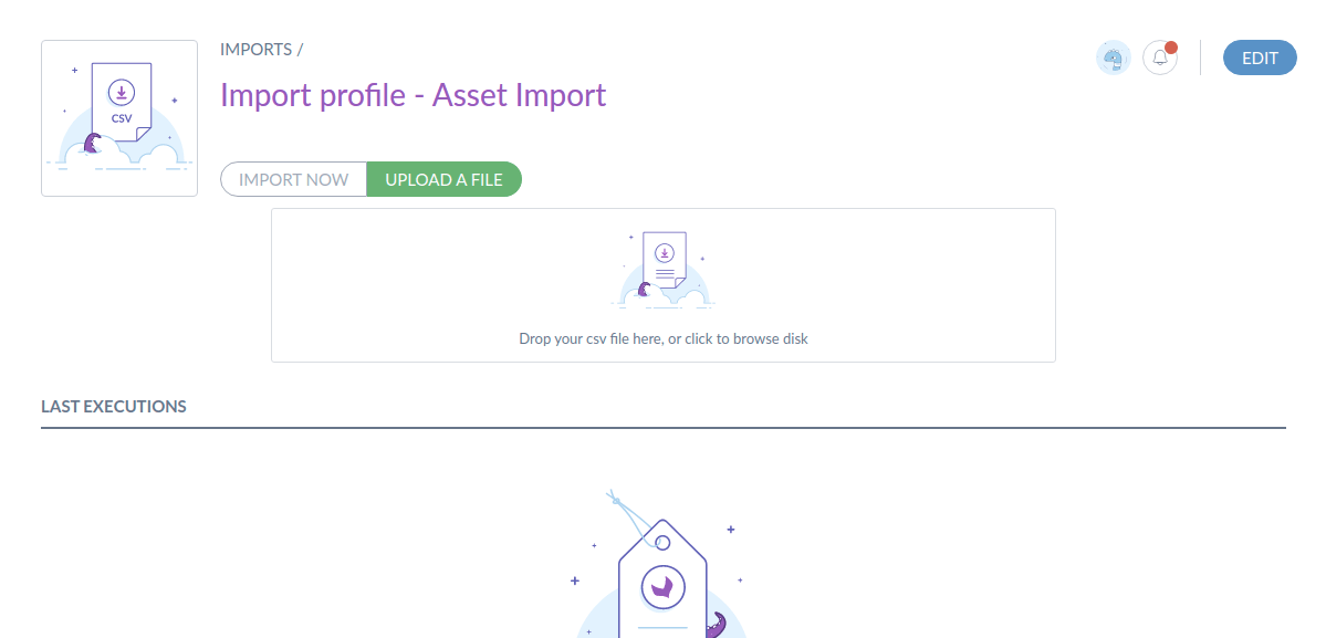 asset import