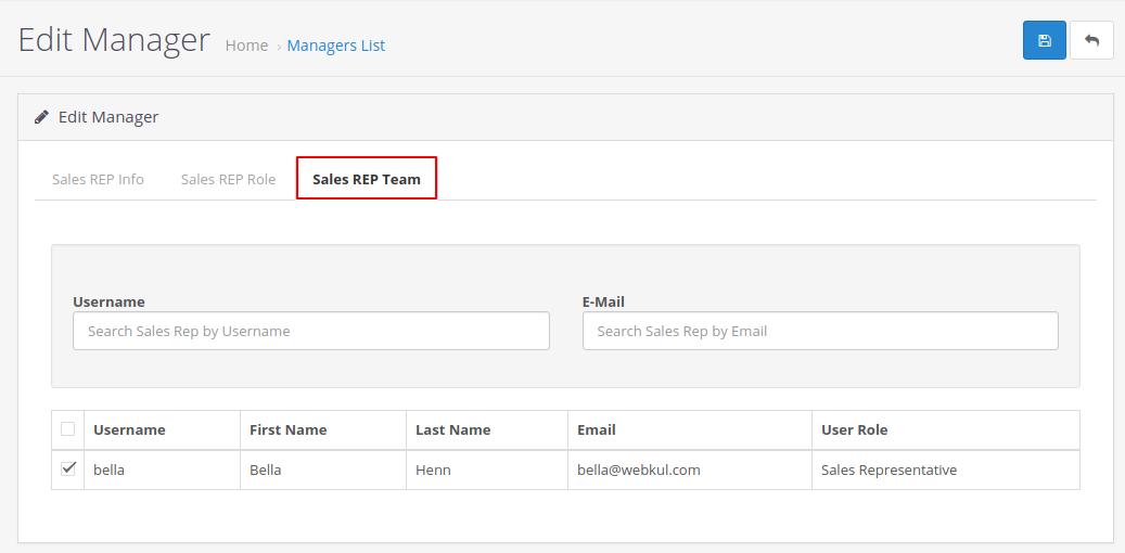 sales rep team
