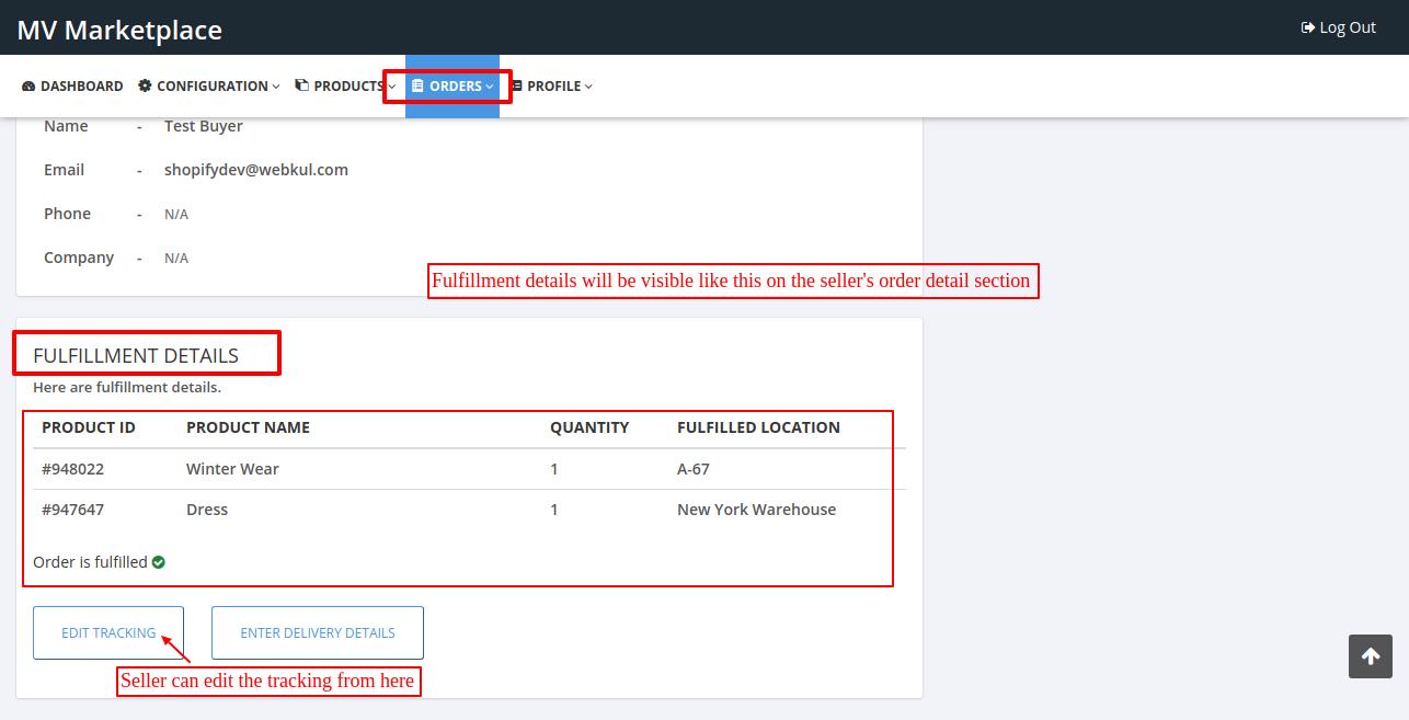 seller order details