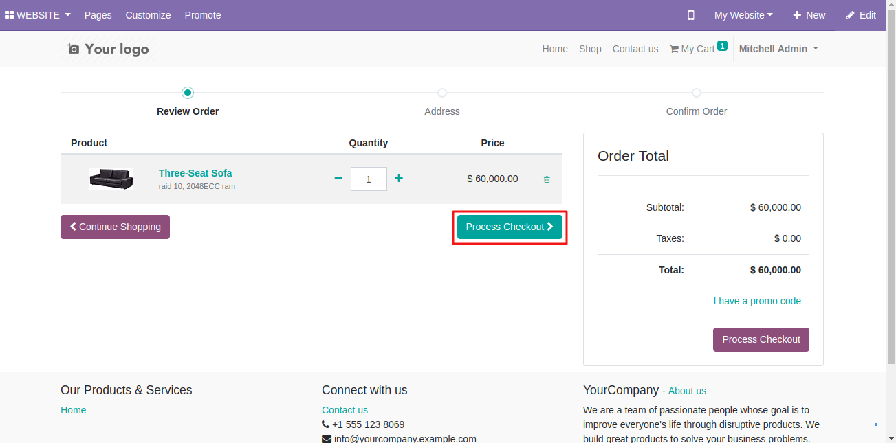 Using GoPay Payment On Odoo Website 1