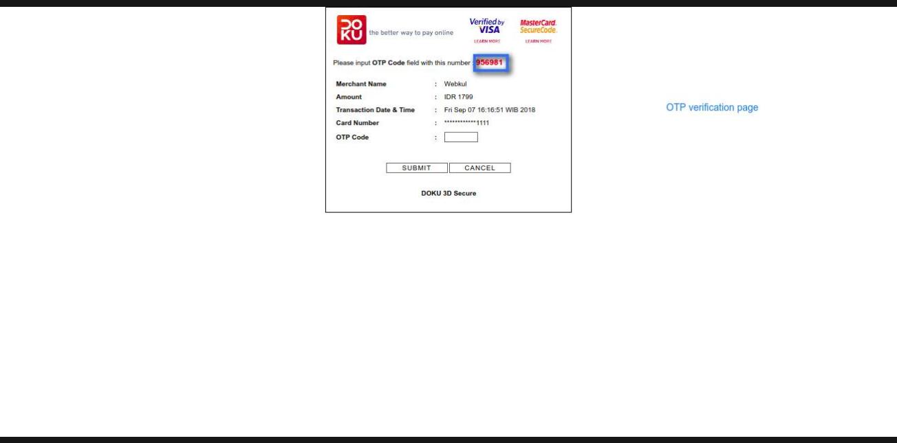 Using Doku on Odoo Website 4
