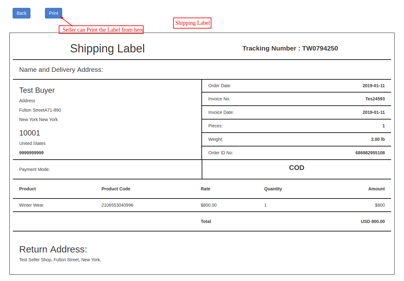 Shipping Label1