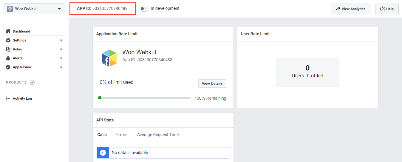 Webkul-Facebook-Messanger-Chat-for-WooCommerce-App-ID