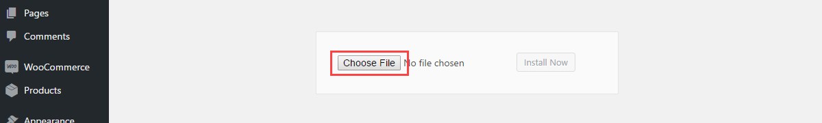 woocommerce-payment-method-restriction-installation-choose-file