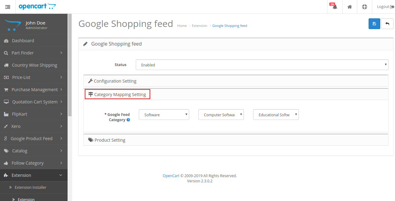 Google Product Feeds | Mechandise Search Feed Extension