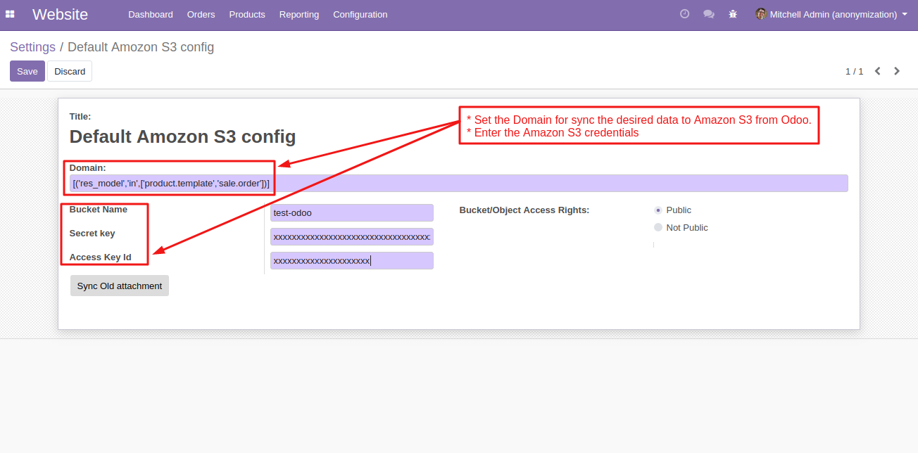 Odoo Amazon S3 Cloud Storage | Configure Amazon S3 with Odoo