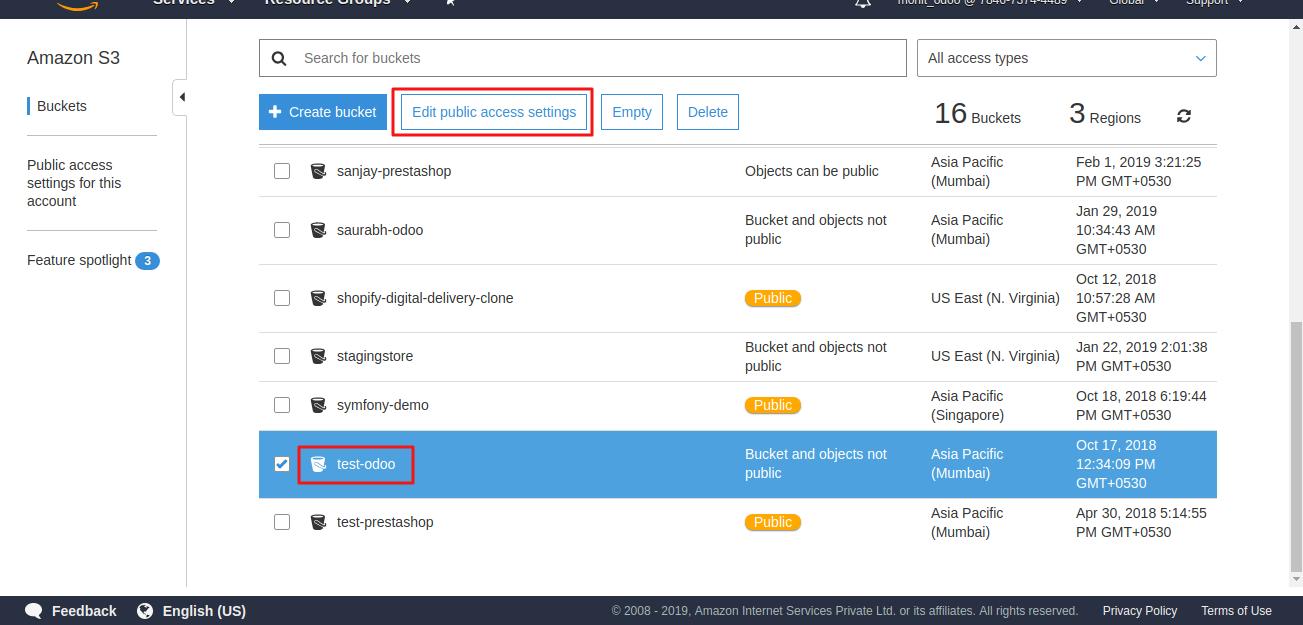 Odoo Amazon S3 Cloud Storage | Configure Amazon S3 with Odoo