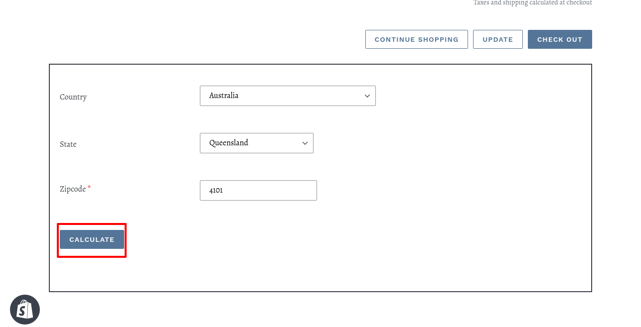 Multivendor Marketplace for Shopify by Webkul: Shipping Calculator