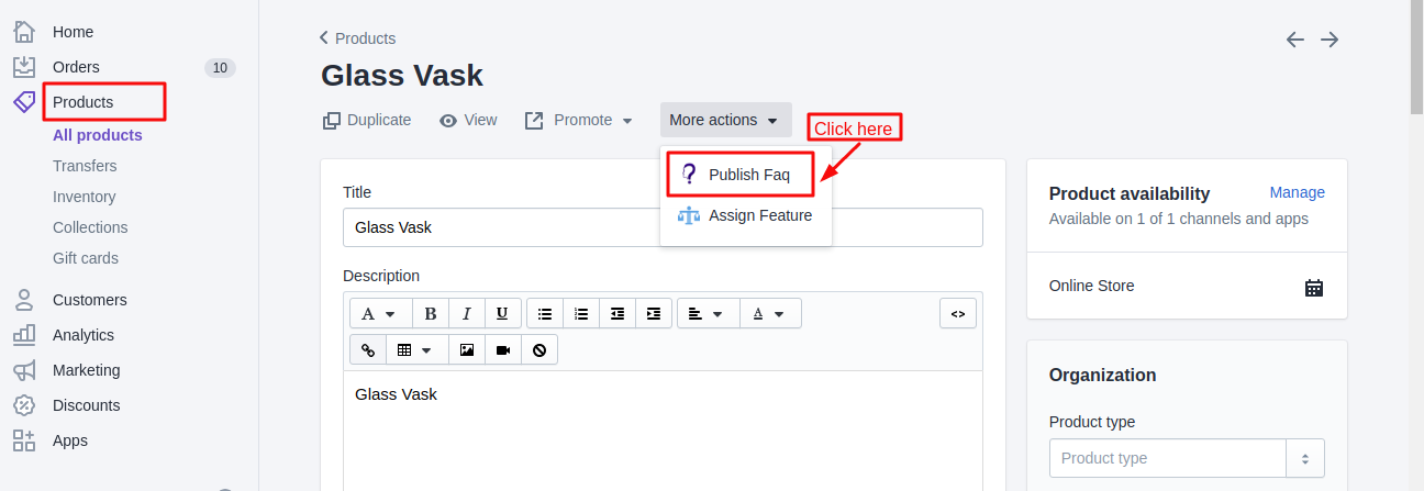 publish faq