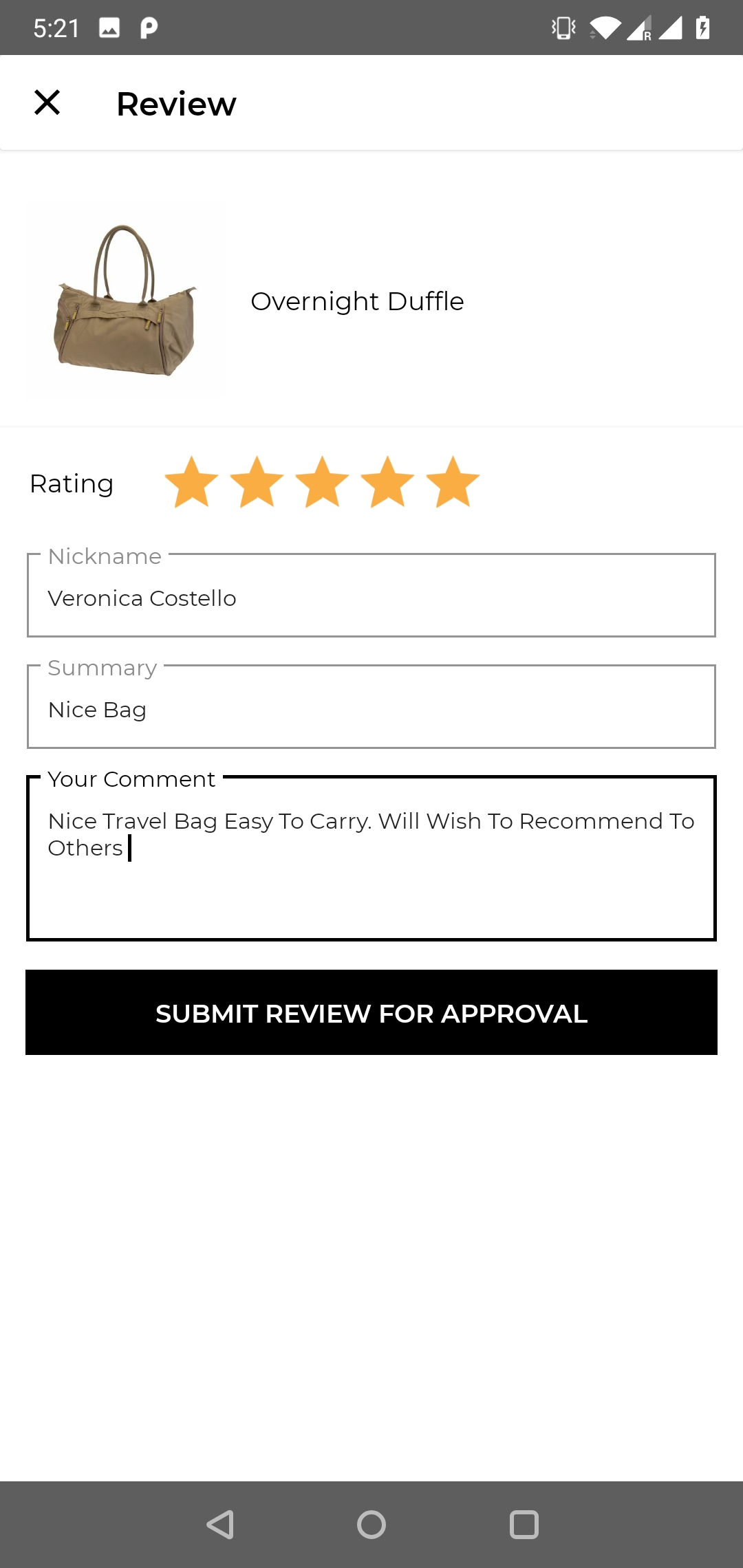 product_reviewing