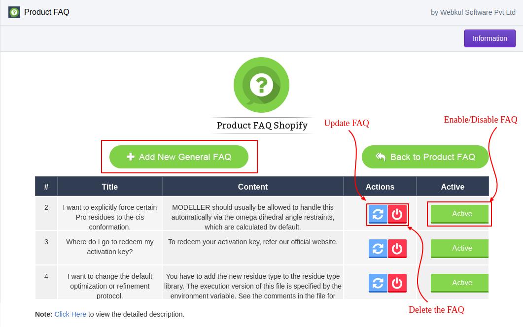 webkul product faq