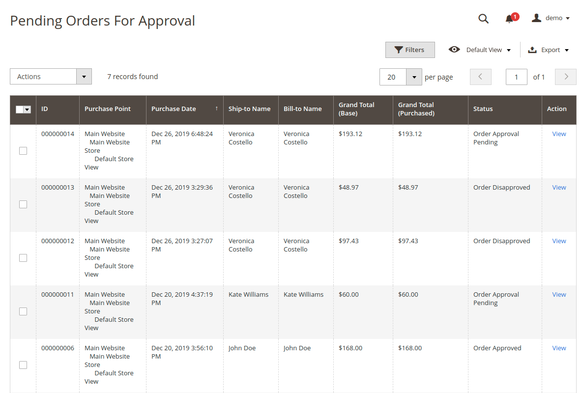 webkul-magento2-order-approval-rules-pending-orders-for-approval